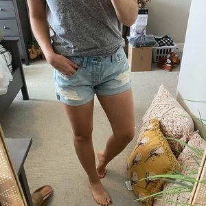 A&F boyfriend shorts